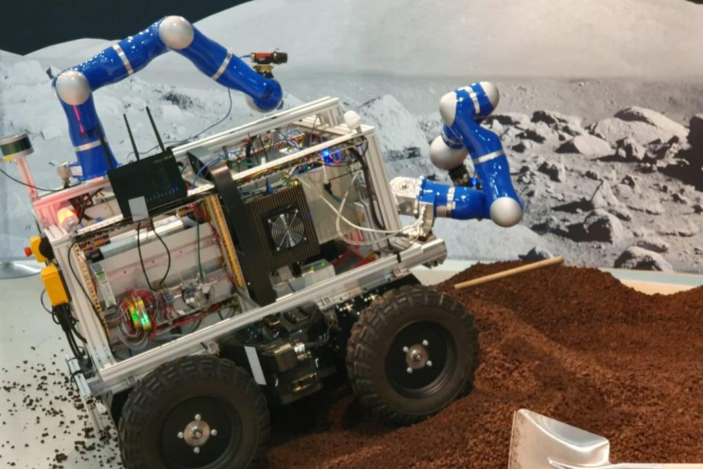 Luca Parmitano ha telecomandato un robot dalla Stazione Spaziale Internazionale