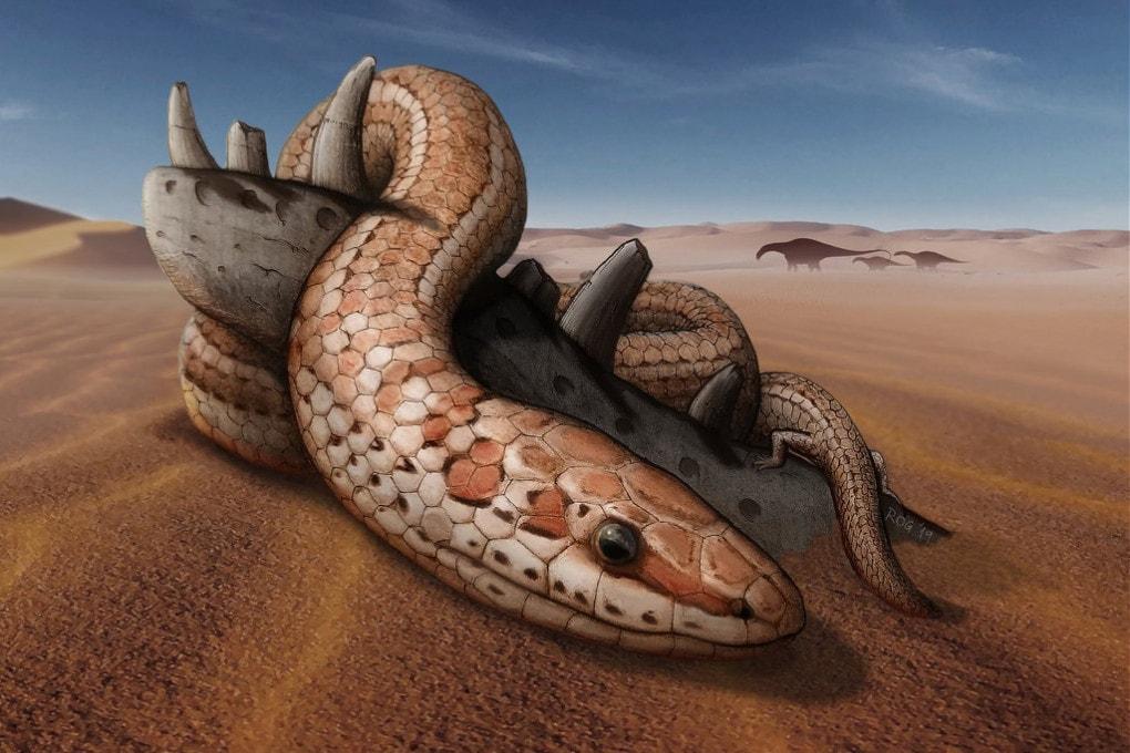 Gli antenati dei serpenti