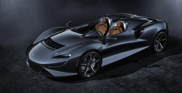 McLaren Elva: l'aerodinamica fa da tettuccio e finestrini