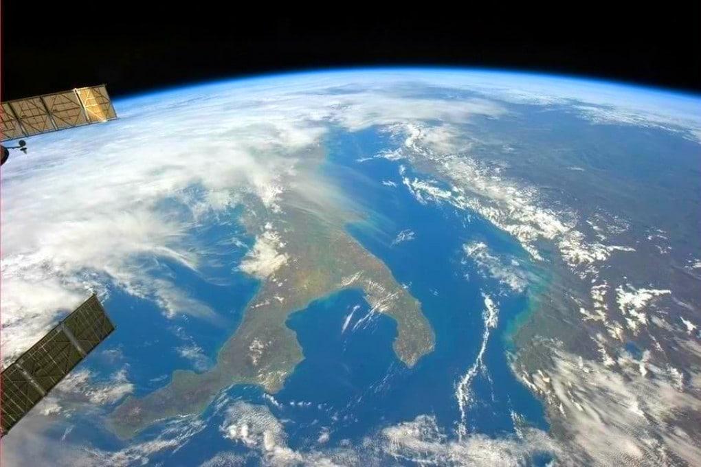 Italia vista dalla ISS