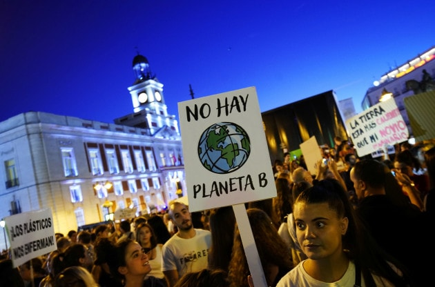 COP25: Fridays For Future, Global Climate Strike