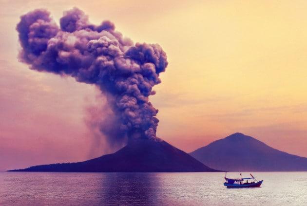 Eruzioni vulcaniche: lo tsunami dell'Anak Krakatoa era alto più di 100 metri