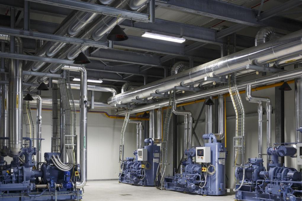 Interni impianto Orogel di Cesena