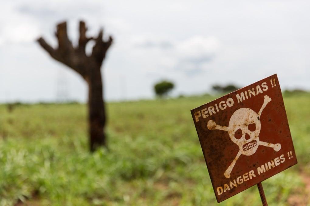 Batteri OGM per trovare le mine antiuomo
