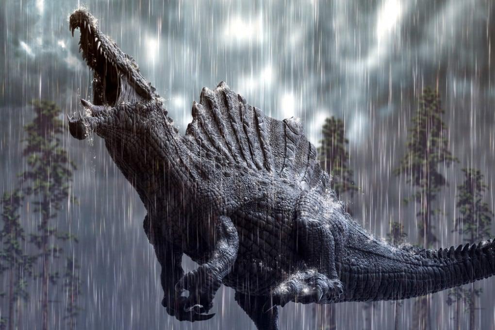 Dinosauri sotto l'acqua