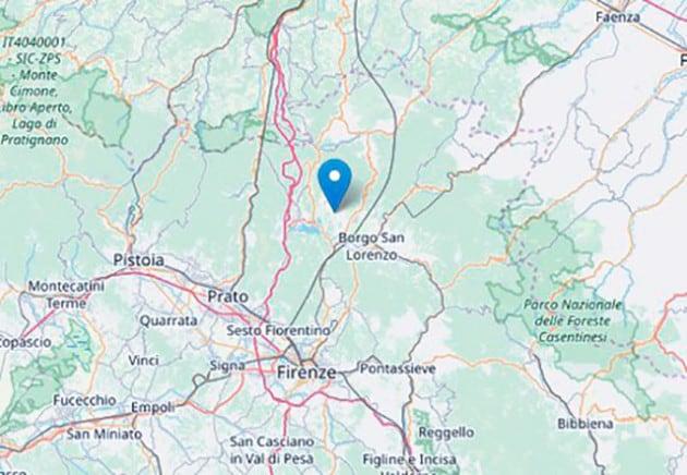 9 dicembre 2019: il terremoto in Toscana
