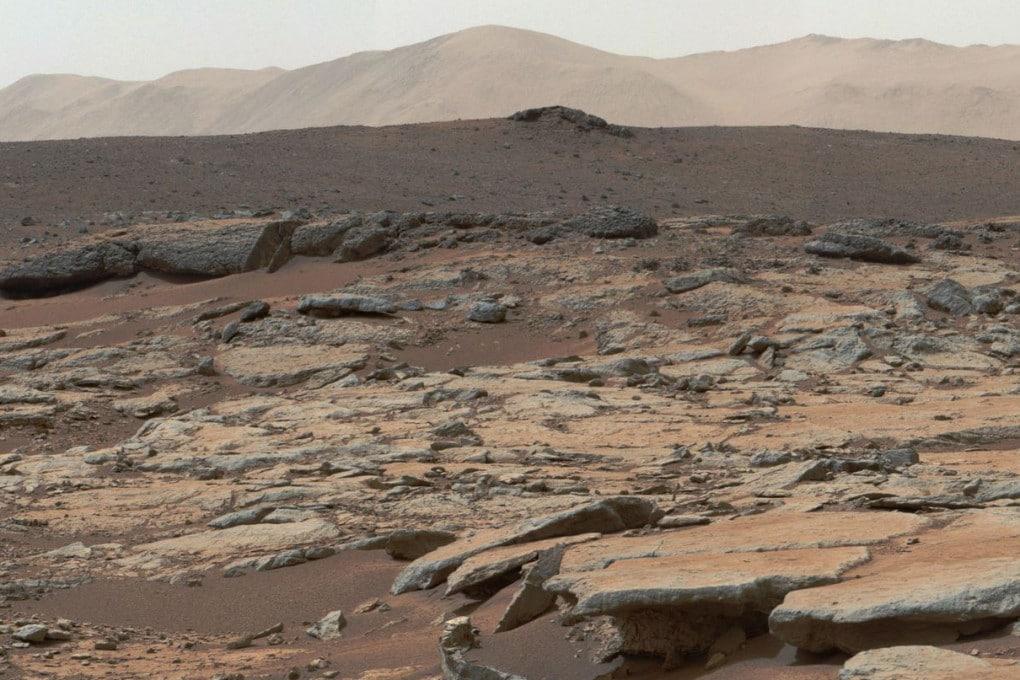 Il cratere Gale su Marte