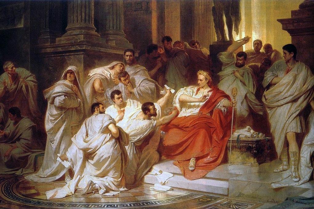 Le mogli e le amanti di Giulio Cesare