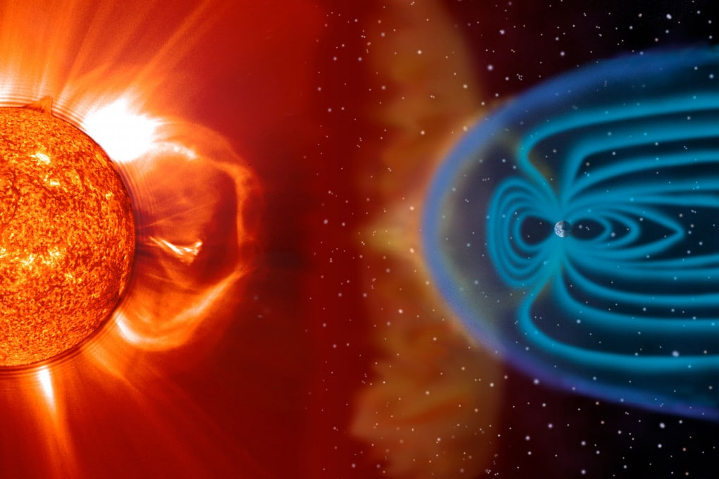 vento solare e magnetosfera