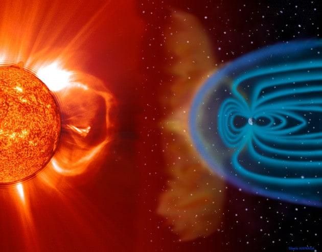 Le anomalie del campo magnetico della Terra