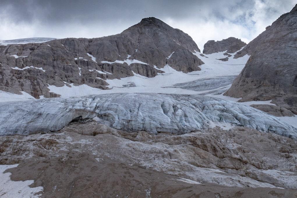 ghiacciaio della Marmolada