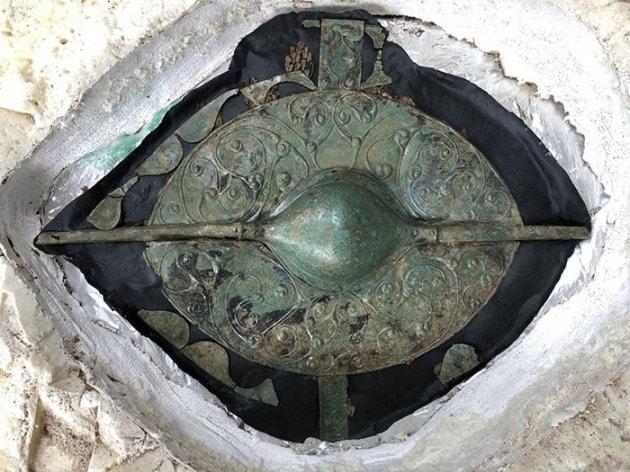 Scudo celtico Età del Ferro