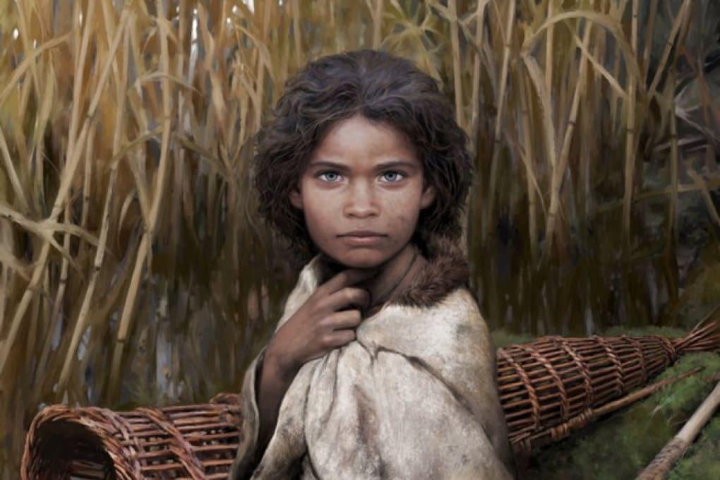 Volto di una donna di 5.700 anni fa