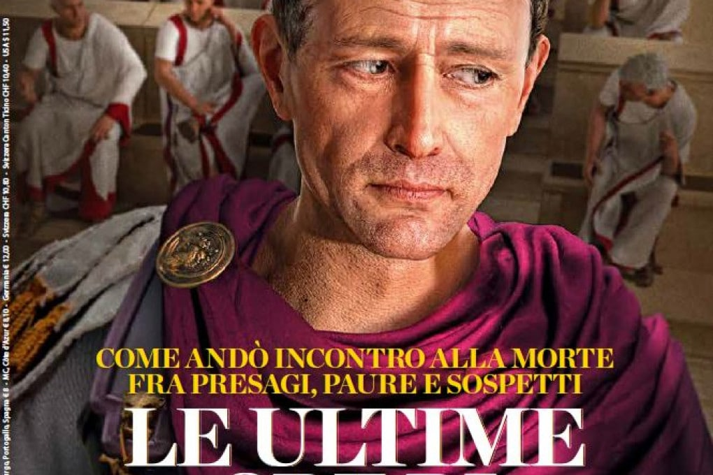 Giulio Cesare nella copertina di Focus Storia 159