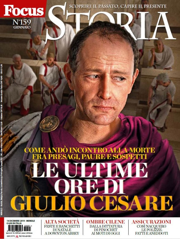 I podcast di Focus Storia: Canfora racconta Cesare