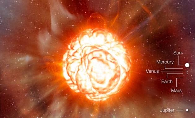 Betelgeuse: annuncio di morte (quasi) imminente per i Bastioni di Orione