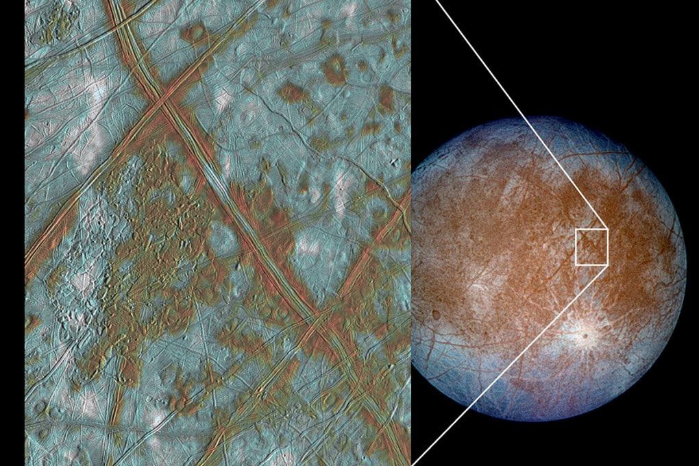 Europa, satellite di Giove