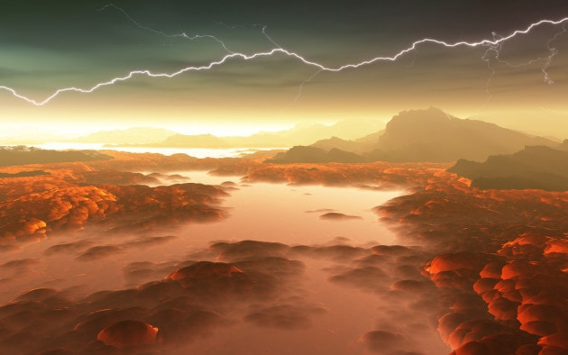 I vulcani di Venere