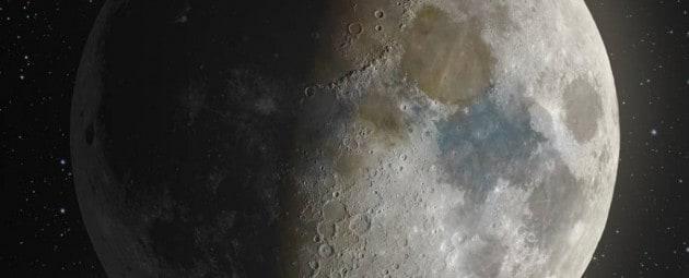 Il vero volto della Luna