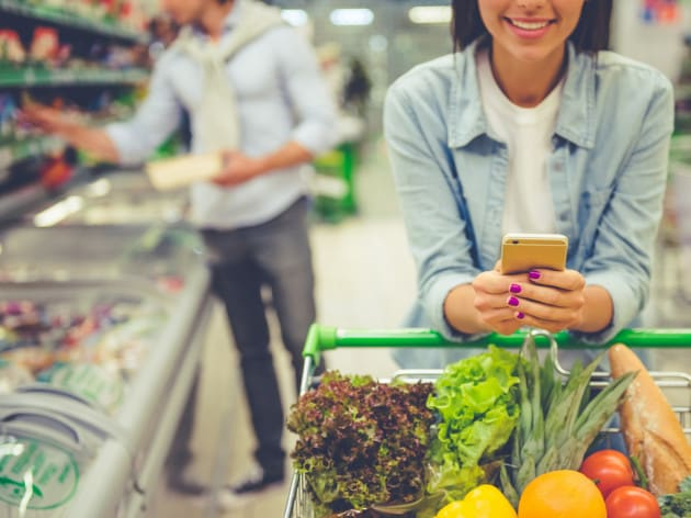 La spesa con lo smartphone costa di più
