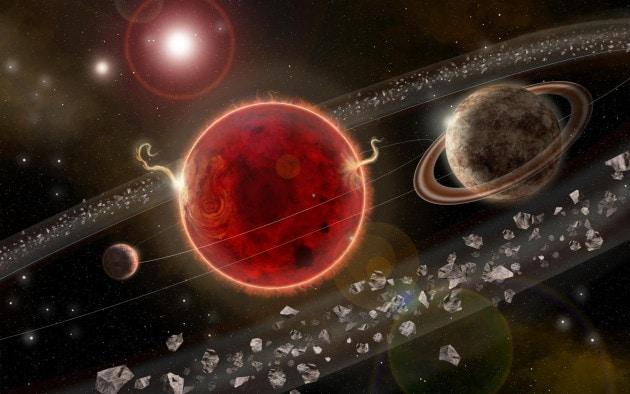 Proxima c: un nuovo candidato esopianeta attorno a Proxima Centauri
