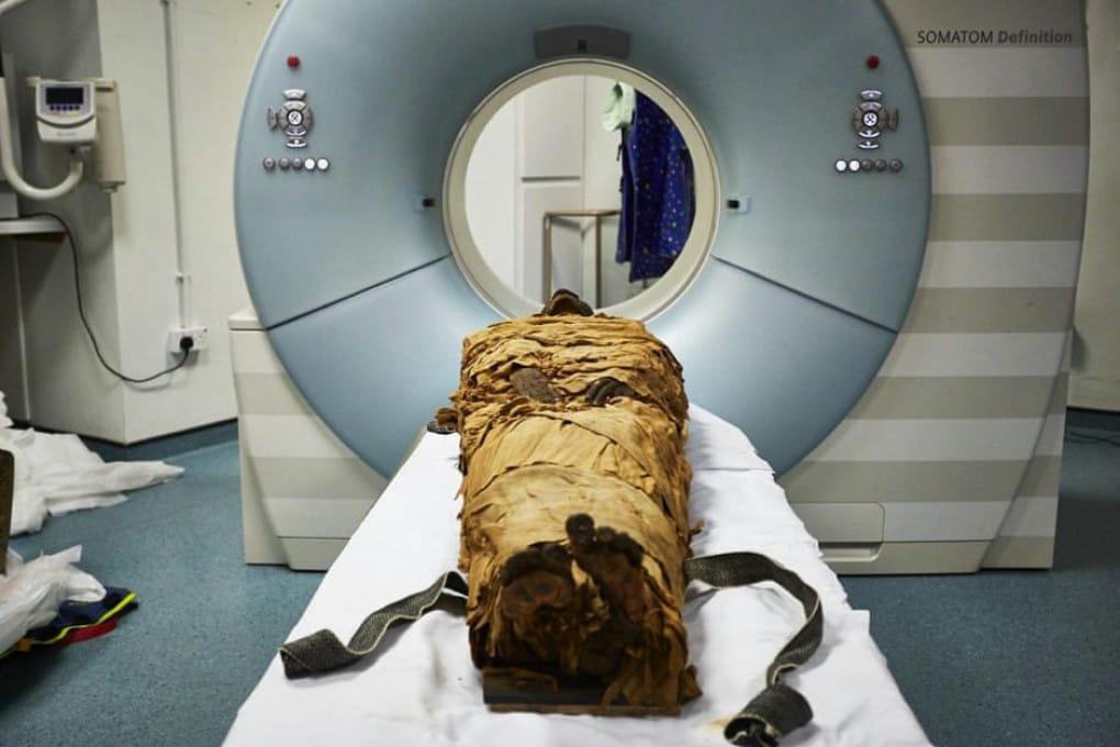 La voce della mummia