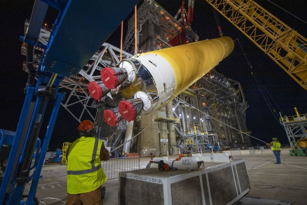 Al test l'SLS: il razzo più potente della NASA