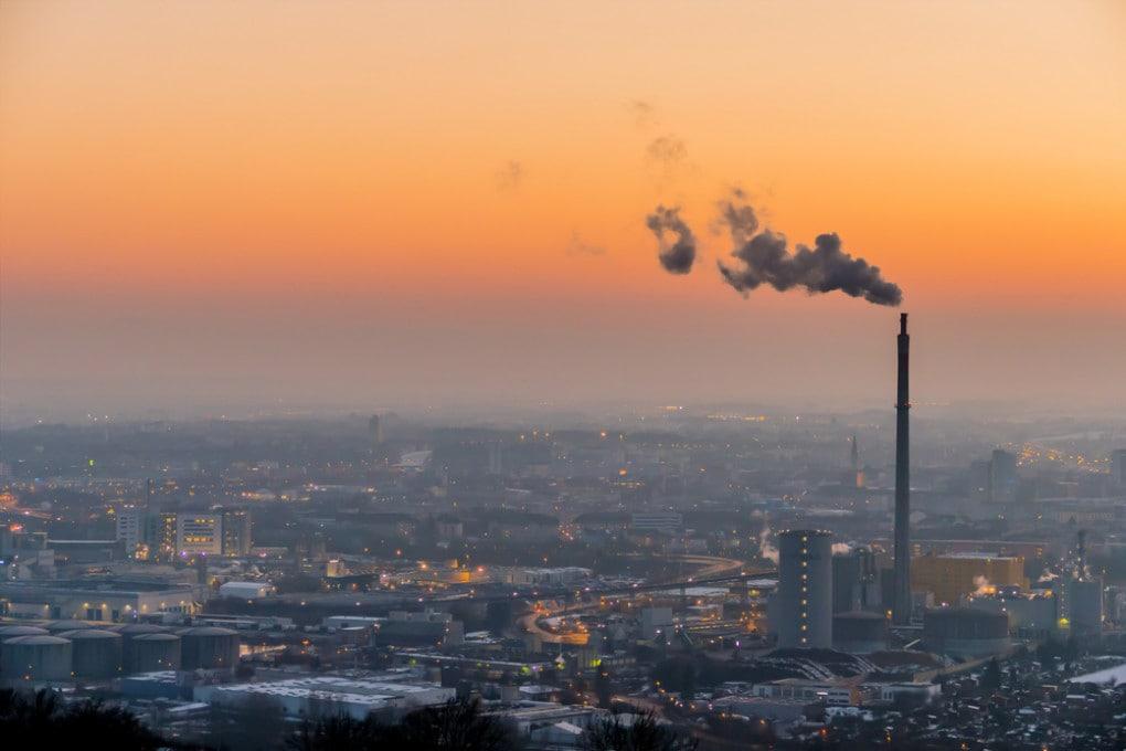 Inquinamento atmosferico: aria di città