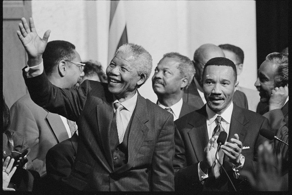 Nelson Mandela, 1994