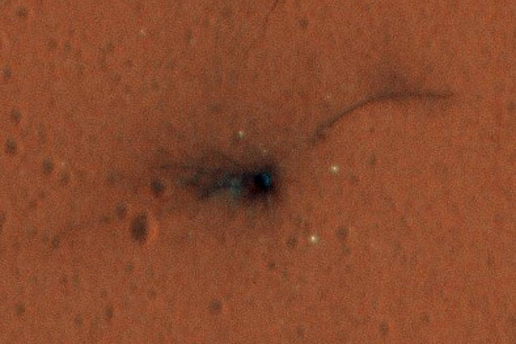 La Schiaparelli sulla superficie di Marte