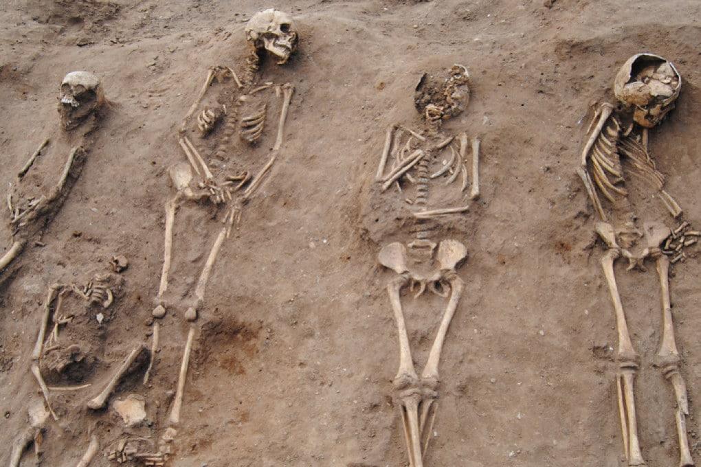 Peste Nera: sepoltura di massa