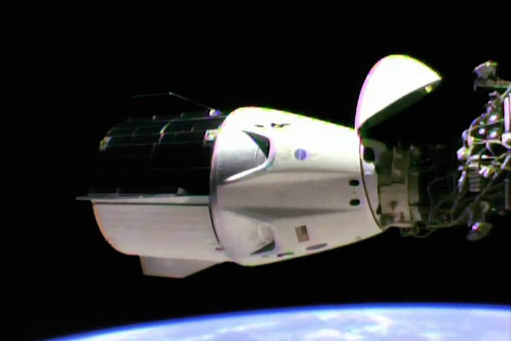 La Crew Dragon, di SpaceX