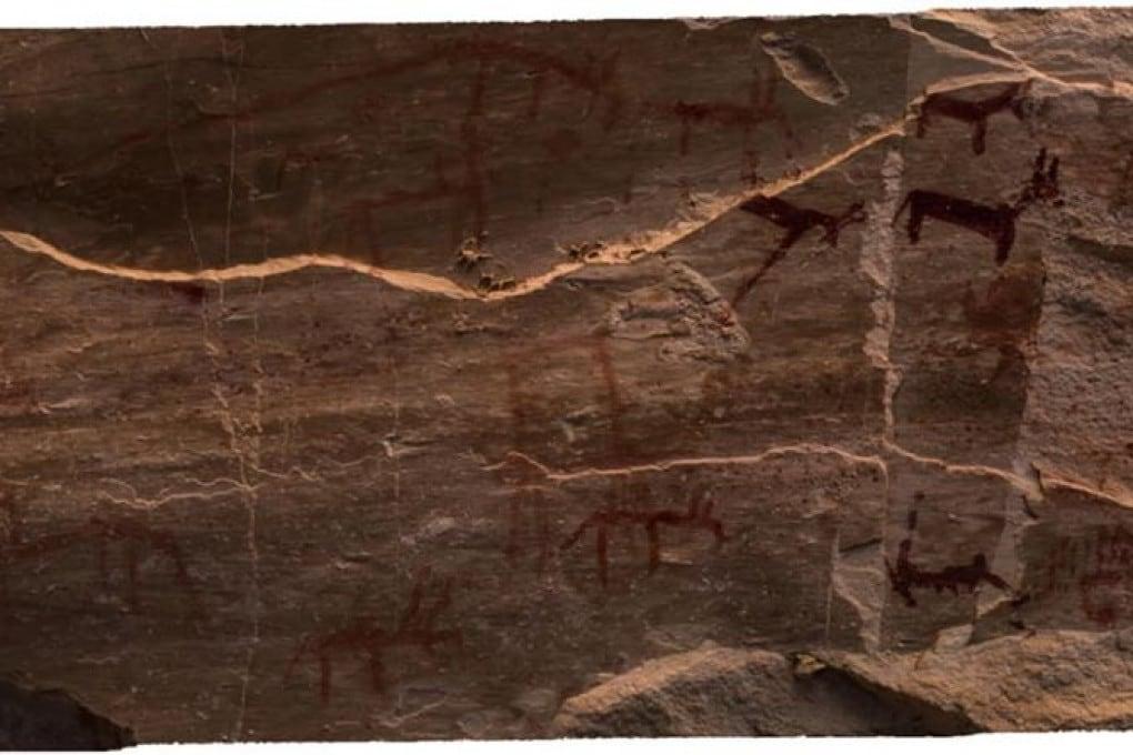 Antico Egitto, pitture rupestri