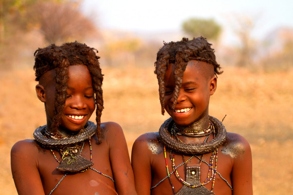 Bambini Himba