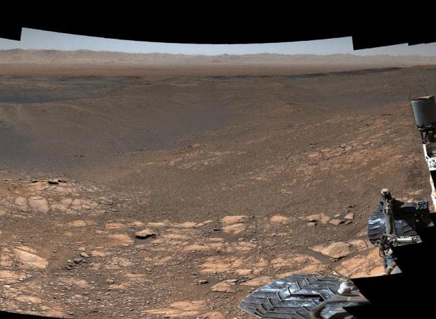 Curiosity: una foto panoramica da Marte