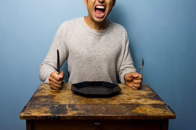 Perché troppa fame ci rende nervosi?