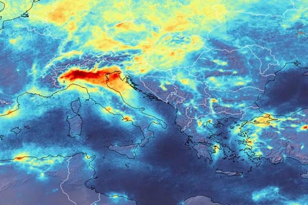 Inquinamento visto dal satellite