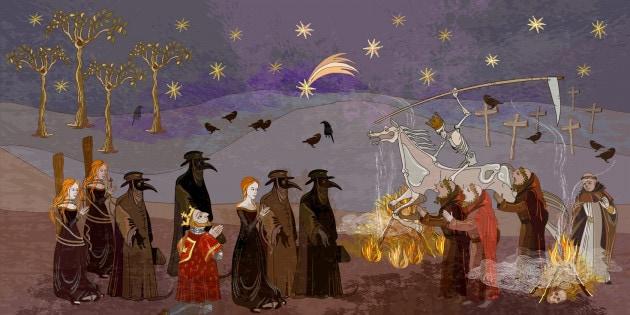 Lezioni di storia: peste, influenza spagnola e vaiolo