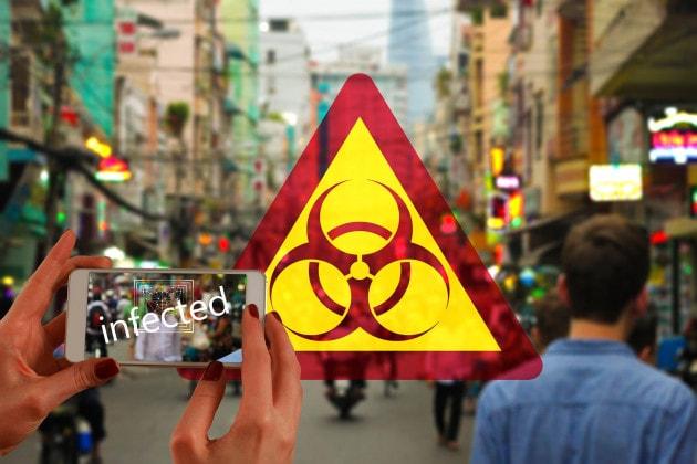 Smartphone e app anti-covid