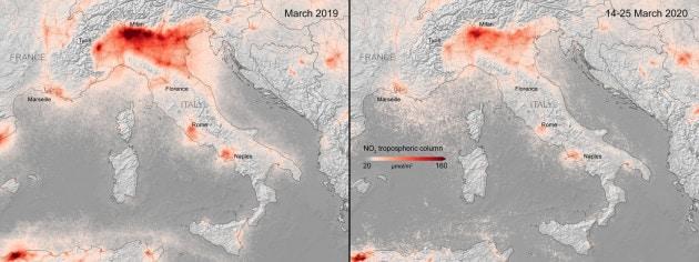 Polveri sottili: l'inquinamento sulla Pianura Padana