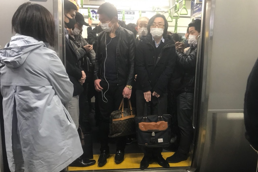 La linea metropolitana Yamanote di Tokyo.