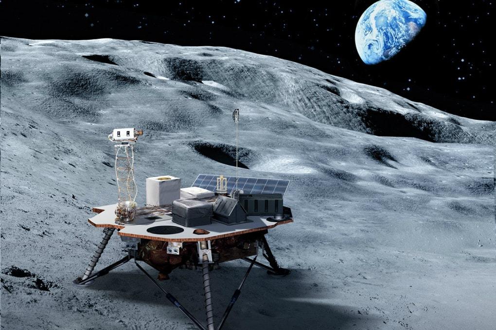 Lander sulla Luna