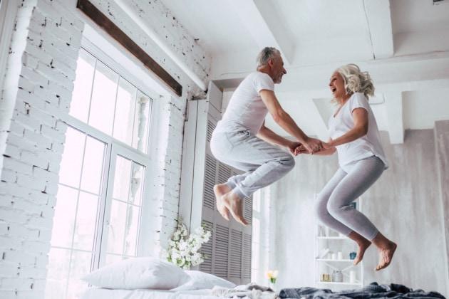 Perché il sesso fa bene (anche ) a una certa età?