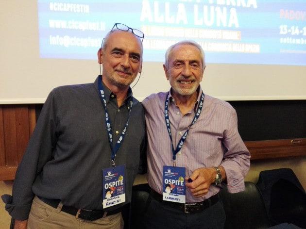 Corrado Lamberti e Gianluca Ranzini