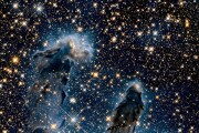 I Pilastri della Creazione all'infrarosso