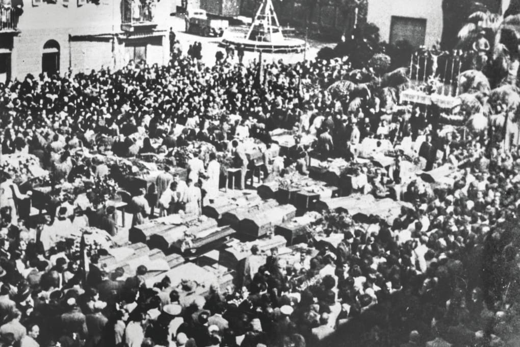 Funerali dei martiri di Grugliasco