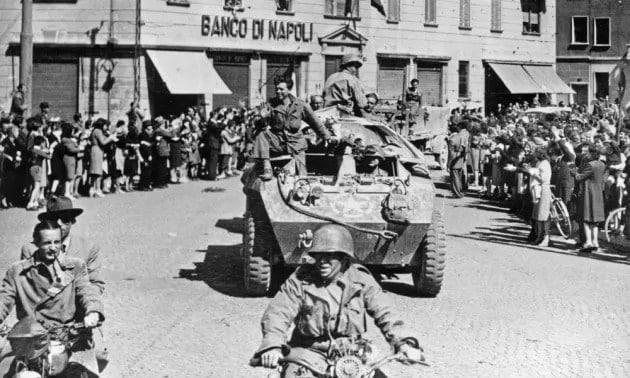 Aprile 1945: l'ingresso degli americani a Milano