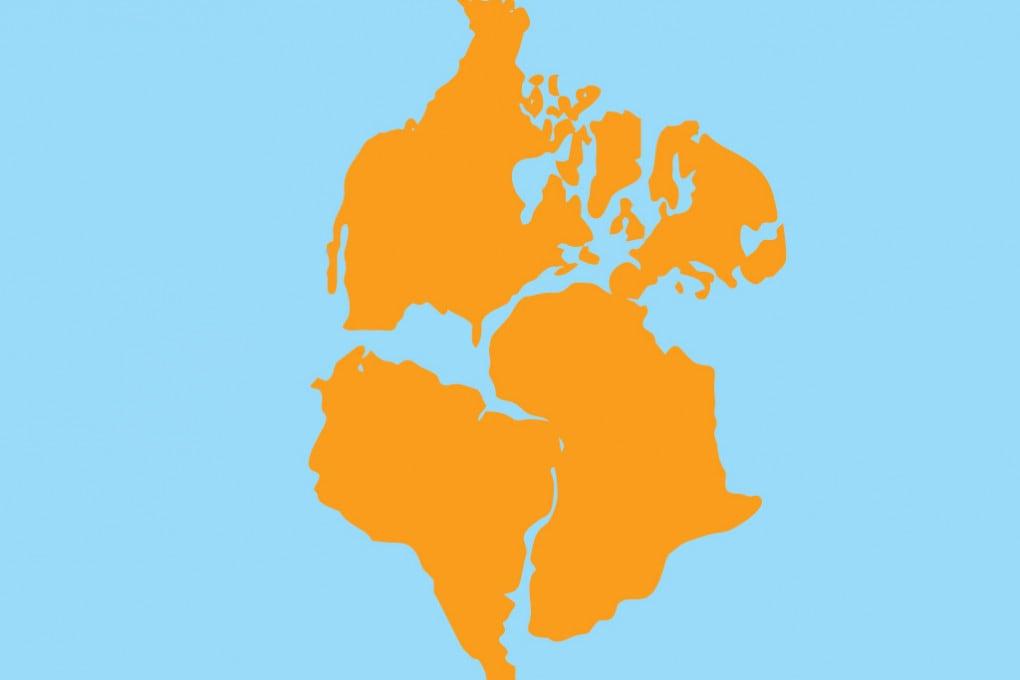 Il super continente Pangea