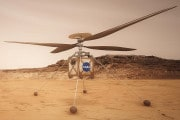 L'elicottero marziano è pronto al decollo