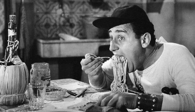 Alberto Sordi e la pasta